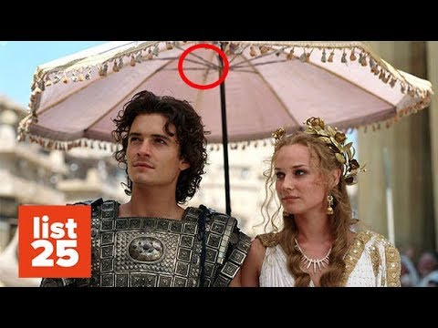 25 Historical Movie MISTAKES