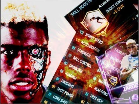 Gyasi Zardes THE BEAST - Fifa 18 Mobile   Goals   Skills