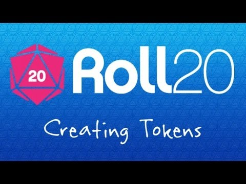 4 Roll20 Crash Course - Creating Tokens