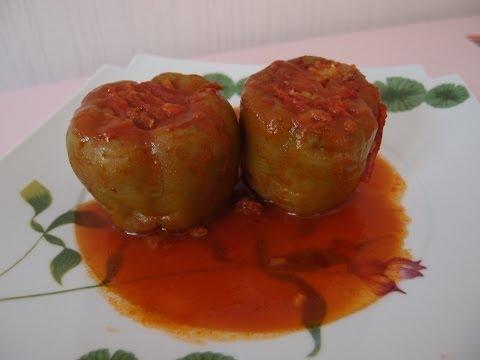 recette-du-poivron-farcie-à-la-viande-hachée/-biber-dolmasi