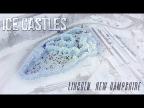 Ice Castles of Lincoln, NH in Under 59 Seconds   Voyager Design Co.