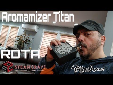 Aromamizer Titan RDTA - 41mm - Build & Wick - Mike Vapes