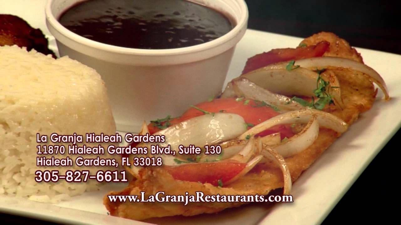 La Granja Hialeah Gardens - English - YouTube