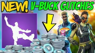 (100% Real) NEW FREE V-BUCK Glitches In Fortnite Coming! NEW Skins, Emotes (Fortnite Battle Royale)