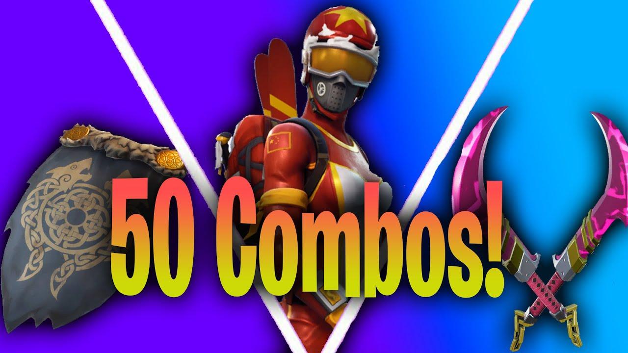 50 Tryhard Skin Combos : Fortnite Chapter 2 Season 3 - YouTube