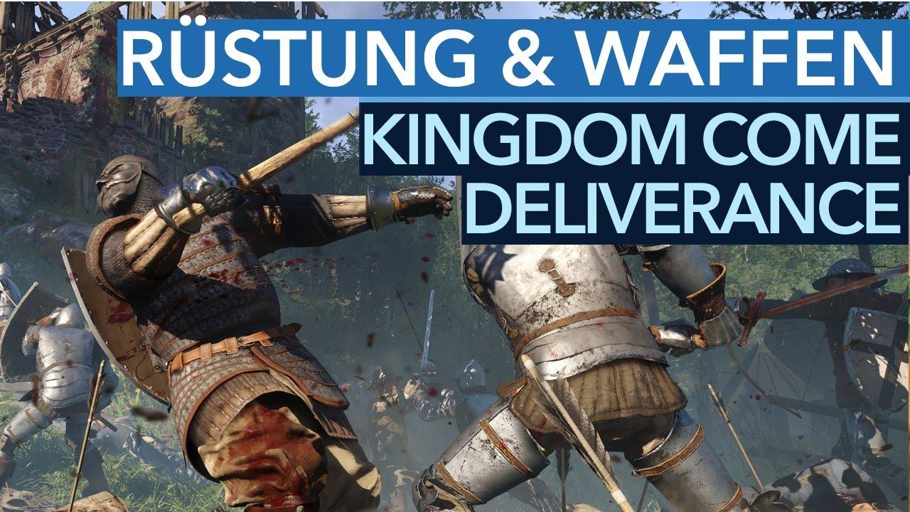 Kingdom Come Deliverance Rüstung