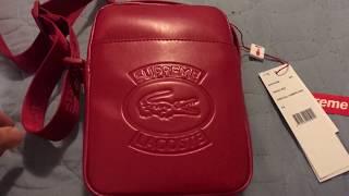 Supreme/ Lacoste Shoulder Bag Red ラコステ 検索動画 25