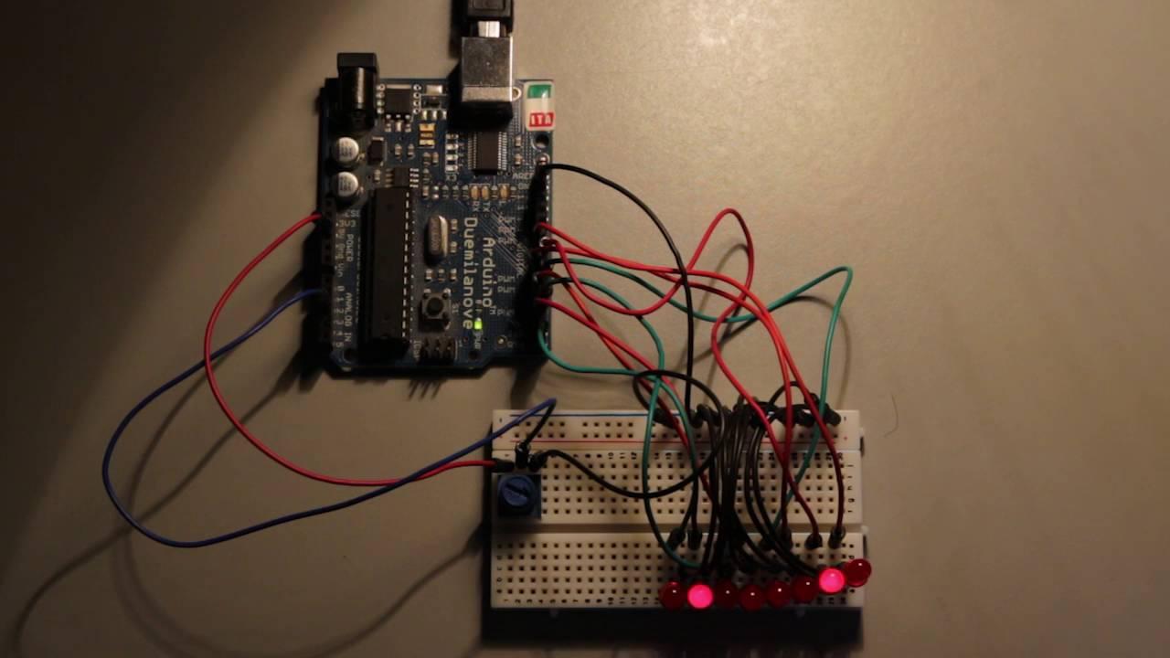 circuit diagram knight rider light [ 1280 x 720 Pixel ]