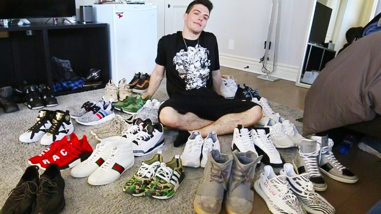 MY SHOE COLLECTION!! - YouTube