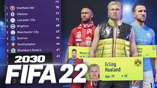 FIFA 22 CAREER MODE IN 2030!!! 😱