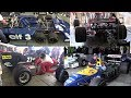Historic Minardi Day 2019   F1 Pure Sound: Tyrrell, Mclaren, Ferrari, Lamborghini, Williams...