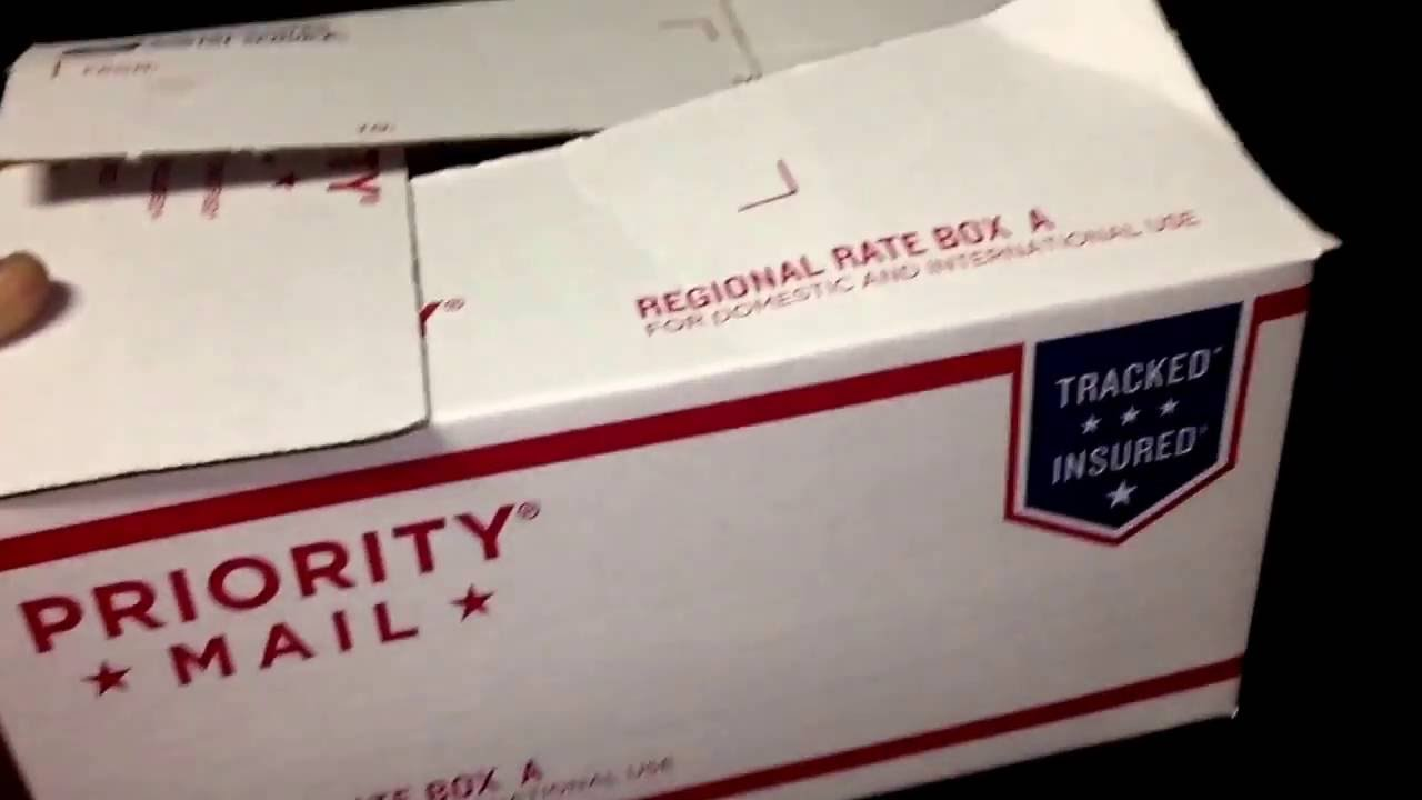 Priority Mail Regional Box A USPS Review - YouTube