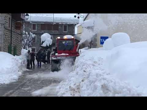 Nieve León Filomena: La UME en la Posada de Valdeón - Parte 6
