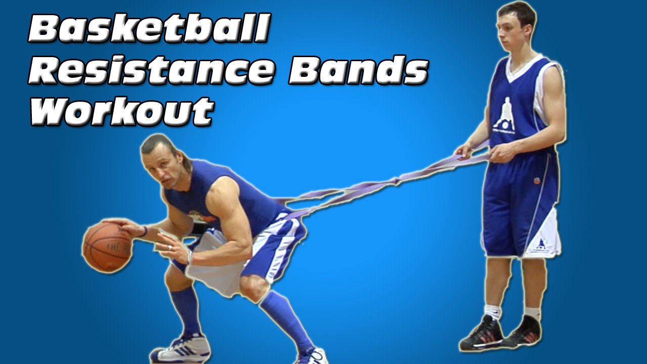 Basketball Resistance Bands Workout - Dribbling - YouTube