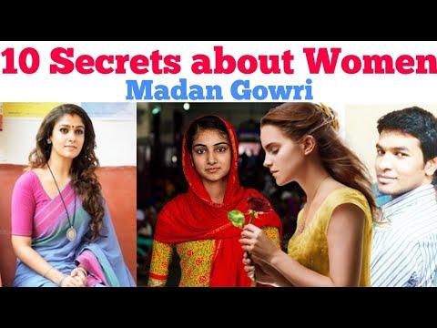 10 Secrets about Women   Tamil   Madan Gowri   MG