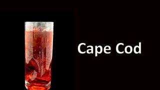 Cape Cod Cocktail Drink Recipe Hd