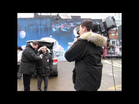 CP24 CHUM Christmas Wish - 299 Queen Street West Tour