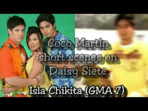 Coco Martin short scenes on Daisy Siete Isla Chikita  (GMA 7)