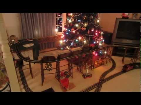 2012 Christmas Trains G Scale