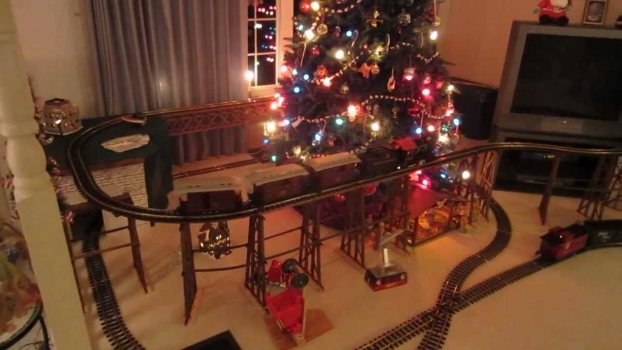 2012 Christmas Trains G Scale Youtube