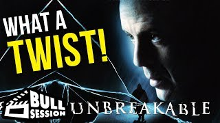 Unbreakable [Bruce Willis, Samuel L Jackson] Movie Review – Bull Session