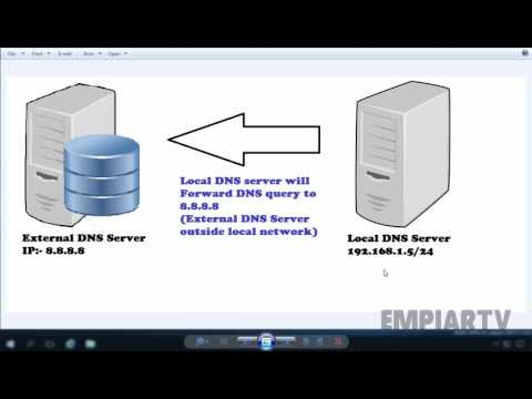 Configure a DNS server to use forwarders