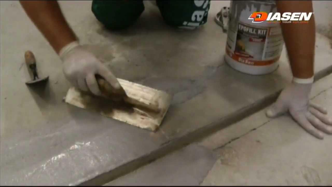Epofill Kit By Diasen Epoxy Filler For Concrete Floors Repairing