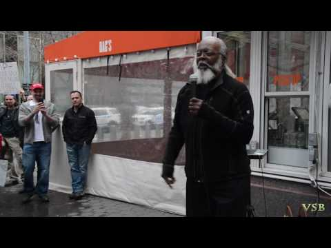 #MAGA NYC Rally with Jimmy McMillan (Rent to Damn High Party)