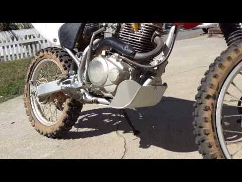 Motorcycle Skid Plate Installation - YouTube