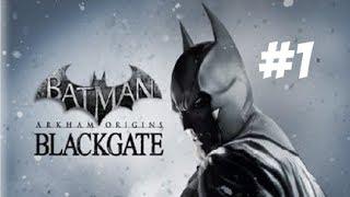 PS Vita - Batman Arkham Origins: Blackgate Gameplay Part 1 - Welcome to Arkham