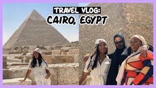 INSIDE THE GREAT PYRAMIDS OF GIZA!!   EGYPT TRAVEL VLOG