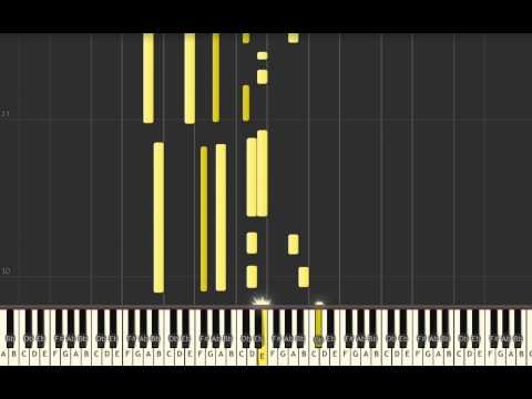 Sesame Street theme - Piano cover and tutorial - Synthesia