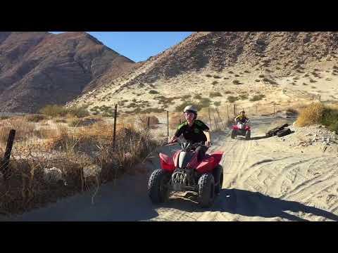 Riding ATVs in Palm Springs