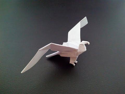 видео: Красивый орел оригами, beautiful eagle origami
