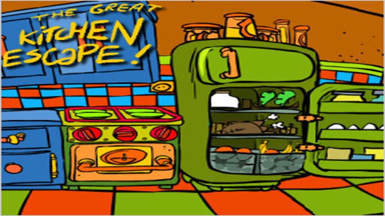 good The Great Kitchen Escape Walkthrough Part - 5: The Great Kitchen Escape Walkthrough!