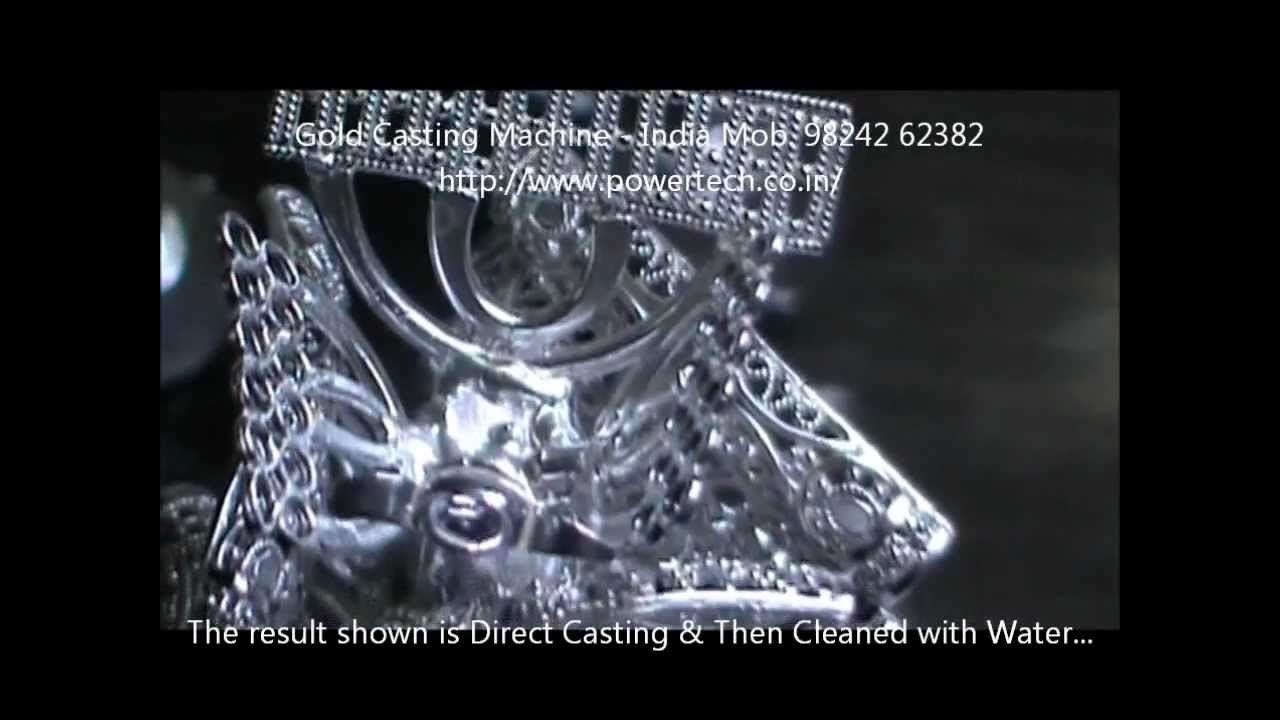 How to Melt Cast Gold Jewelry silver platinum lost wax Casting