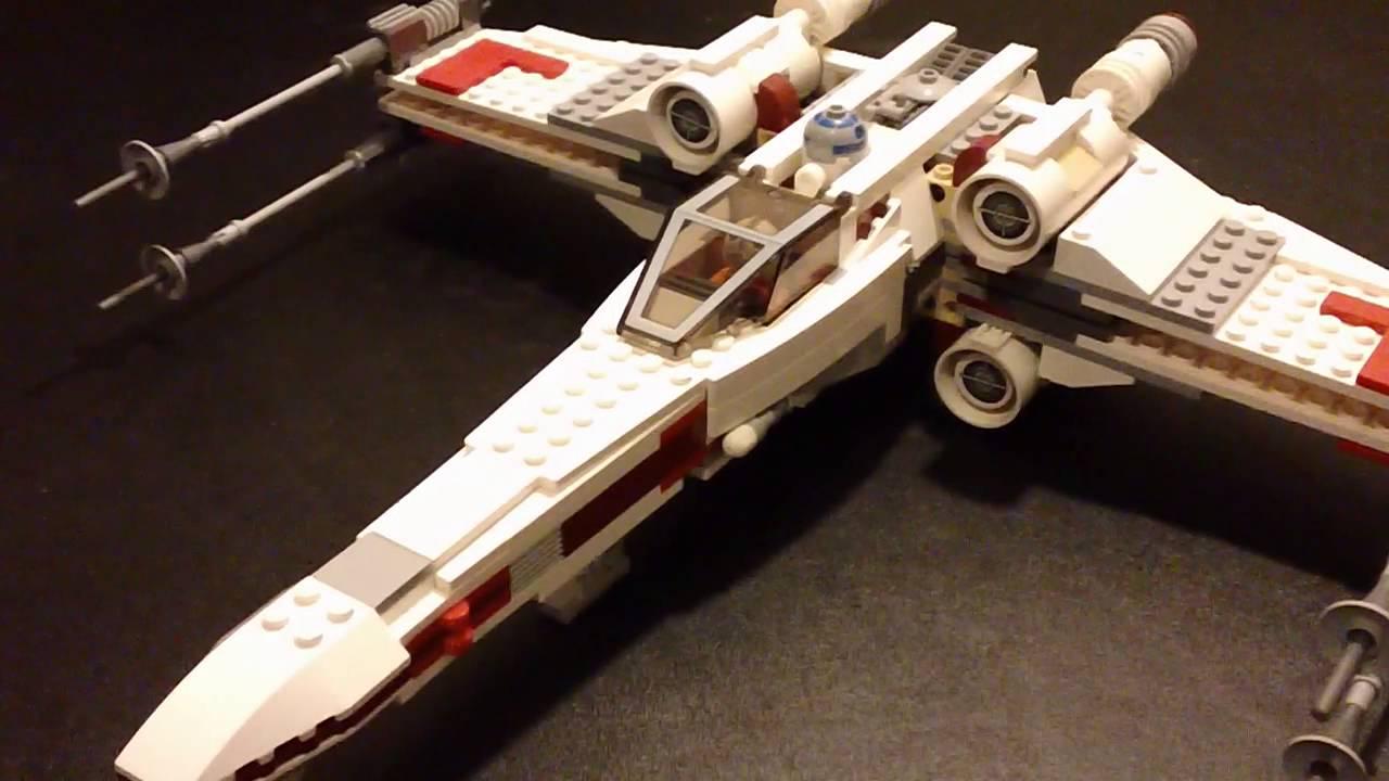 Uncategorized Luke Skywalker Ship hd lego star wars x wing starfighter review set 9493 youtube 9493