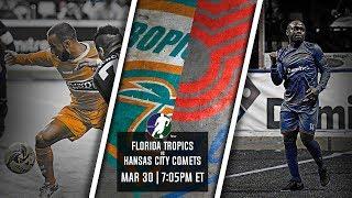 Florida Tropics vs Kansas City Comets