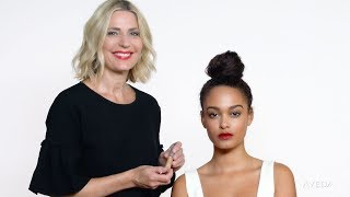 Aveda | How to Makeup Look with a Perfect Bold Red Lip