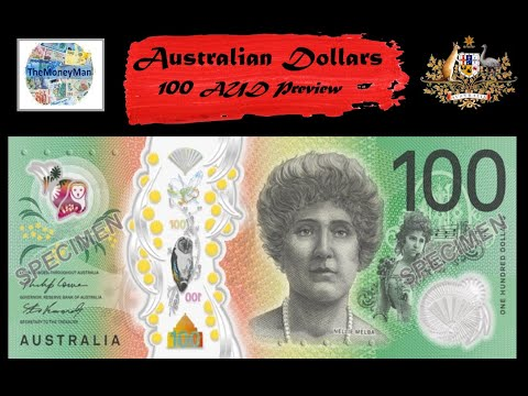 New Australian 100 Note Preview - What A Beauty!