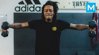 Wiz Khalifa Fighting Training | Muscle Madness
