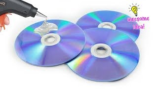 4 ADORABLE WAYS TO TRANSFORM OLD CDS INTO USEFUL THINGS| BEST REUSE IDEAS