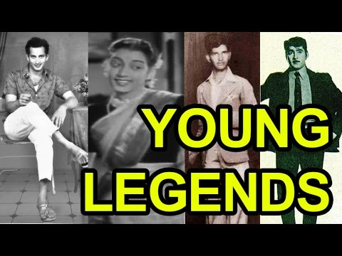 Tollywood Legends When They Are Young