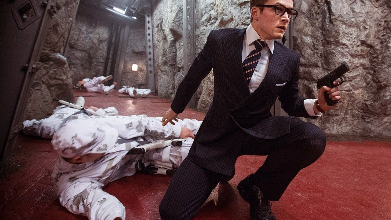 "Download Kingman: The Secret Service ""Count Down"" Scene 1080p"