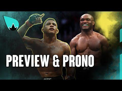 UFC 258 Kamaru Usman vs. Gilbert Burns - PREVIEW & PRONO