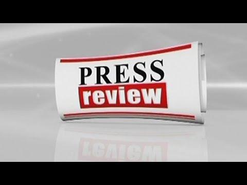 Press Review - 22/05/2018