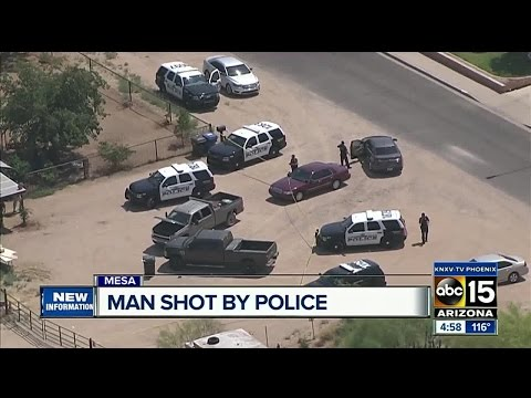 Man shot by Mesa police during order of protection call