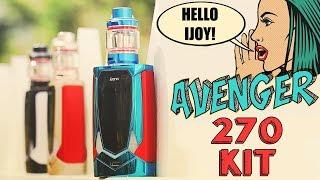 1st Voice Control Mod EVER! The iJOY Avenger 270 Starter Kit!