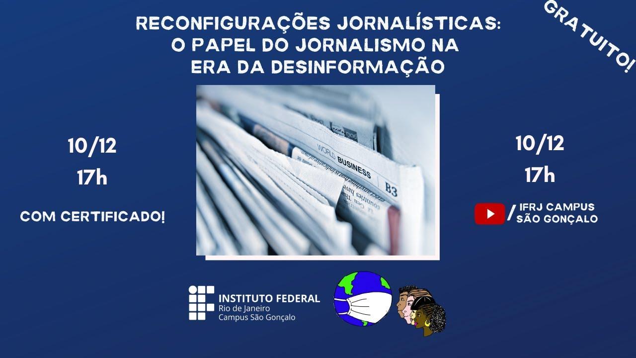 Reconfigurações Jornalísticas no IFRJ São Gonçalo