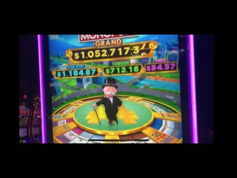 NEW MONOPOLY GRAND SLOT !!!! CHOCTAW IS THE TIGHTEST CASINO IN OKLAHOMA !!!!